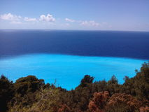 Lefkas wyspa Grecja Obrazy Royalty Free