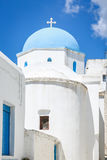 Lefkes church in Paros, Greece. Greek church in Lefkes, Paros island, Greece Royalty Free Stock Photo