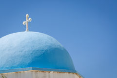 Lefkes church in Paros, Greece Stock Image