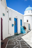 Lefkes church in Paros, Greece Stock Photography