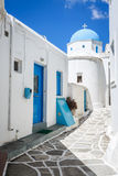 Lefkes church in Paros, Greece. Greek church in Lefkes, Paros island, Greece Stock Photography