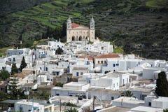 Lefkes, Paros, Greece Stock Image