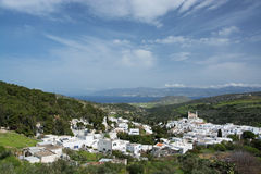 Lefkes, Paros, Greece Stock Images