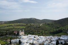 Lefkes, Paros, Greece Royalty Free Stock Photography