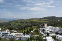 Lefkes, Paros, Greece Stock Photography