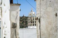 Lefkes village, Paros, Greece Stock Photos