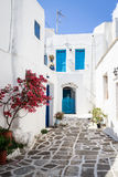Lefkes village, Paros, Greece. The village of Lefkes in Paros island, Greece Royalty Free Stock Photos