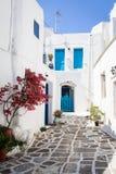 Lefkes village, Paros, Greece Royalty Free Stock Photos