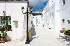 Lefkes village, Paros, Greece. The village of Lefkes in Paros island, Greece Stock Photos