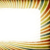 Left aligned sunburst colorful background. Stock Photo