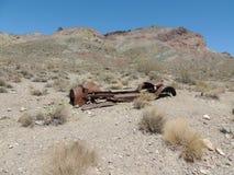 Left in the desert Stock Image