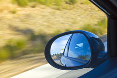 Left mirror car Stock Images