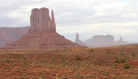 Left Mitten at Monument Valley Stock Photography
