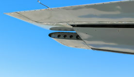 Left or port side wing Royalty Free Stock Images