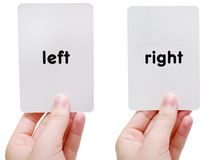Left/Right Stock Photography