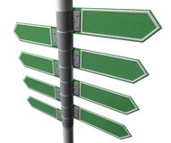 Left Right Blank Direction Sign Collection Royalty Free Stock Photos
