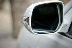 Left side rear view mirror Royalty Free Stock Image