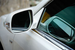 Left side rear view mirror Royalty Free Stock Images