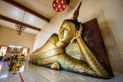 Left side sleeping Buddha Royalty Free Stock Photo