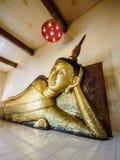 Left side sleeping Buddha Stock Images