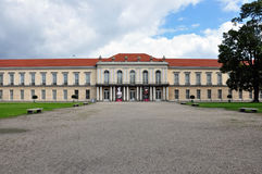 Left Wing of Charlottenburg Palace Royalty Free Stock Images