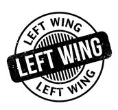 Left Wing rubber stamp Royalty Free Stock Photo