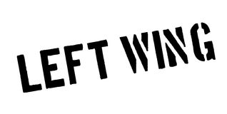 Left Wing rubber stamp Royalty Free Stock Photography