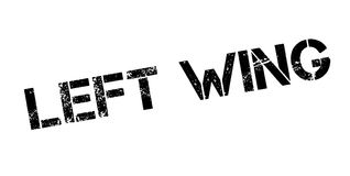 Left Wing rubber stamp Royalty Free Stock Image