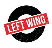 Left Wing rubber stamp Stock Image