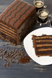 Lefthand Brewery Milk Stout Cake Royalty Free Stock Photos