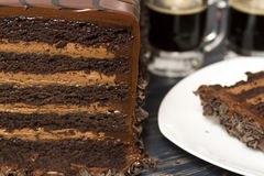 Lefthand Brewery Milk Stout Cake Royalty Free Stock Image