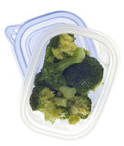 Leftover Broccoli Stock Photo