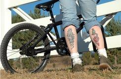 Leg Art Stock Image