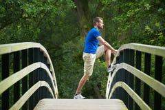 Leg Exercises Royalty Free Stock Image