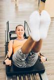 Leg exercises Stock Photography