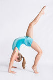 Leg Extension Backbend Stock Image