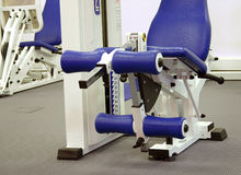 Leg Extension Machine Royalty Free Stock Photography