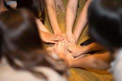 Leg, Hand, Girl, Nail royalty free stock photo
