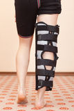 Leg injury Stock Image