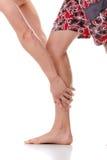 Leg injury Stock Image