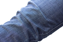 Leg Jeans denim texture. A leg Jeans denim texture for background Stock Photo