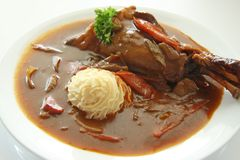 Leg of lamb Stock Image