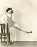 Leg lifts Stock Photos