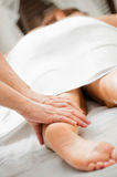Leg Massage Stock Photography