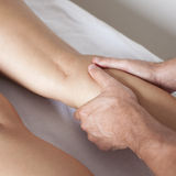 Leg massage Royalty Free Stock Photography