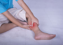 leg pain Royalty Free Stock Photography