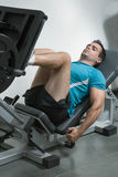 Leg Press Stock Image