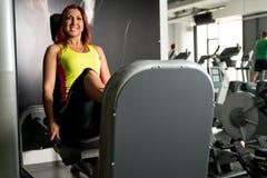 Leg Press Fitness Royalty Free Stock Photo