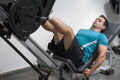 Leg Press - Horizontal Royalty Free Stock Images