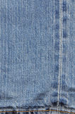 Leg texture surface on jean Stock Photo